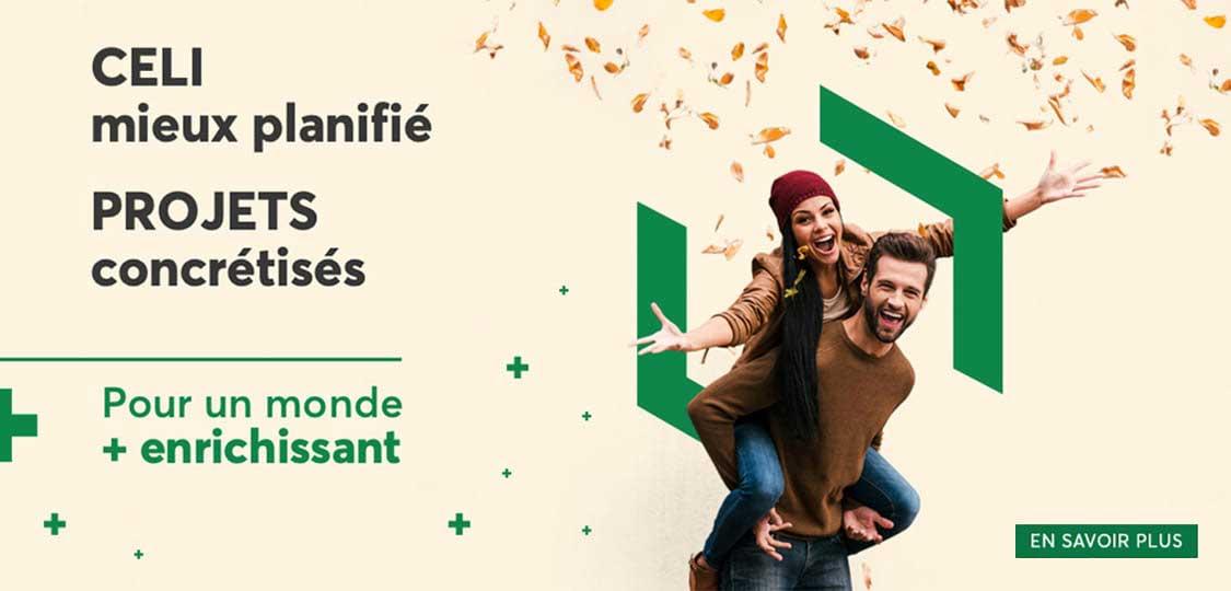 Compte d'épargne libre d'impôt pour les membres de la Caisse Desjardins du Centre-nord de Montréal
